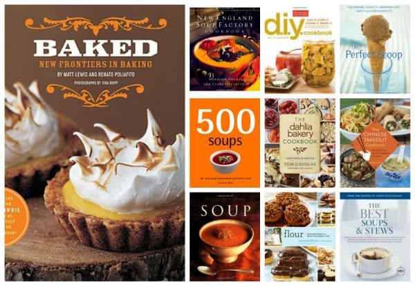 Most Purchased Cookbooks of 2013 by BEB Readers