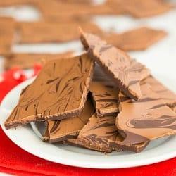 Peanut Butter Swirl Chocolate Bark
