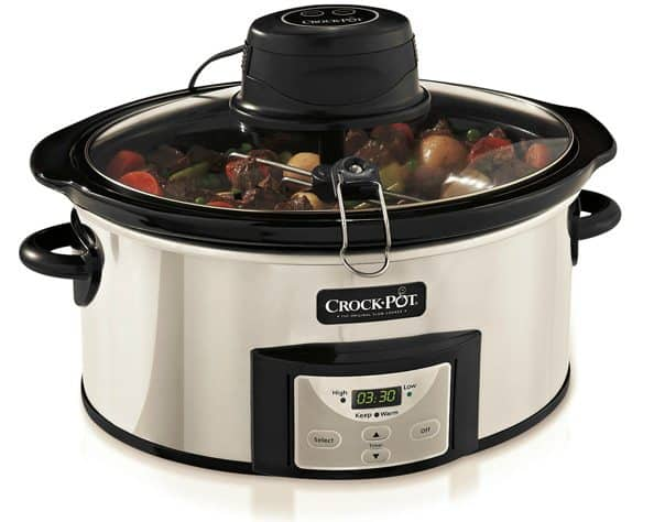 Enter to win a Crock-Pot Digital Slow Cooker with iStir Stirring System on www.browneyedbaker.com!