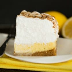 Sky-High Lemon Meringue Pie Bars