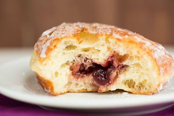 Paczki [Polish Doughnuts] | browneyedbaker.com #recipe #FatTuesday #MardiGras