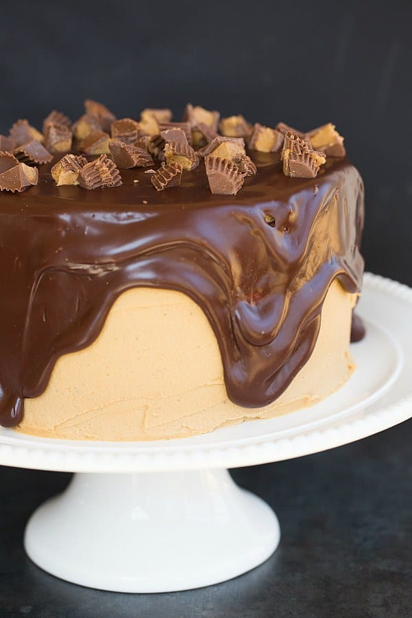 Peanut Butter Chocolate Cake Brown Eyed Baker