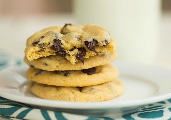 Copycat Soft Batch Chocolate Chip Cookies   browneyedbaker.com #recipe