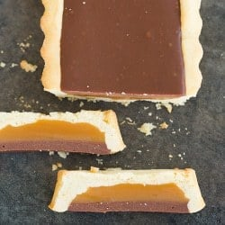 Twix [Candy Bar] Tart
