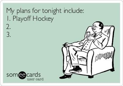 Playoff hockey!