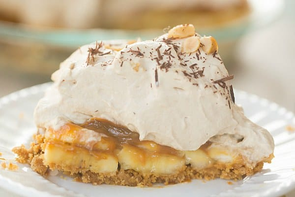 Banoffee Pie | browneyedbaker.com #recipe #pie
