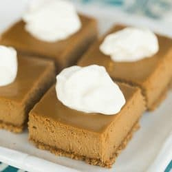 Cappuccino Cheesecake Bars