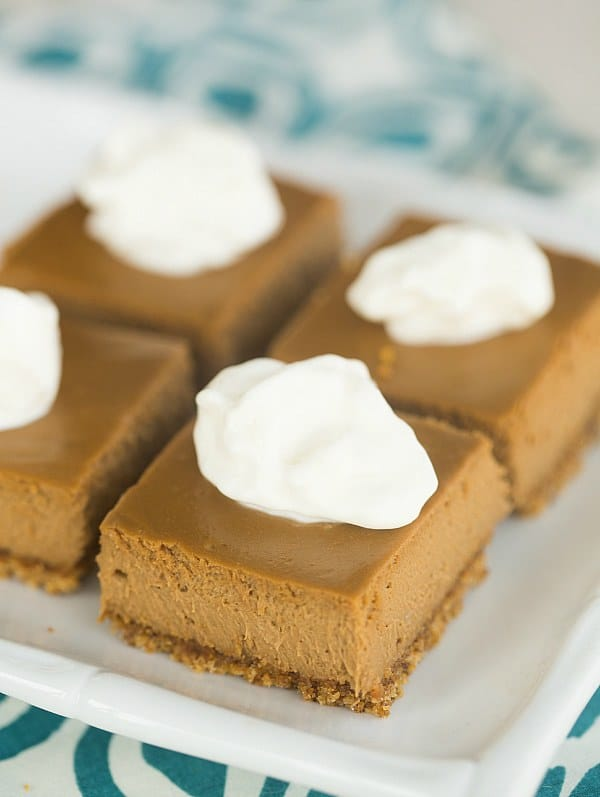 Cappuccino Cheesecake Bars | browneyedbaker.com #recipe
