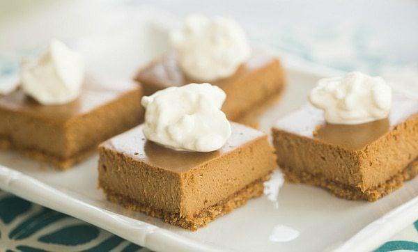 Cappuccino Cheesecake Bars | browneyedbaker.com #recipe