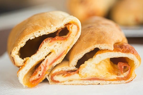 Pepperoni Rolls | Pepperoni Bread | browneyedbaker.com #recipe