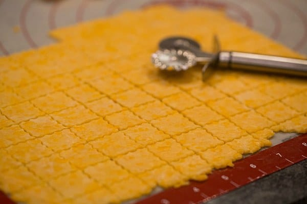 Homemade Cheez-Its | browneyedbaker.com #recipe #diy
