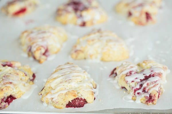 Sweet, tender and buttery, these scones are infused with Meyer lemon ...