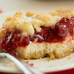 Cream Cheese Cherry Pie Crumb Bars