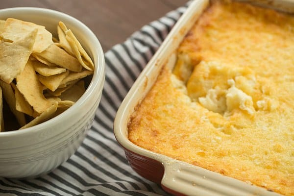Vidalia Onion Dip | browneyedbaker.com #recipe