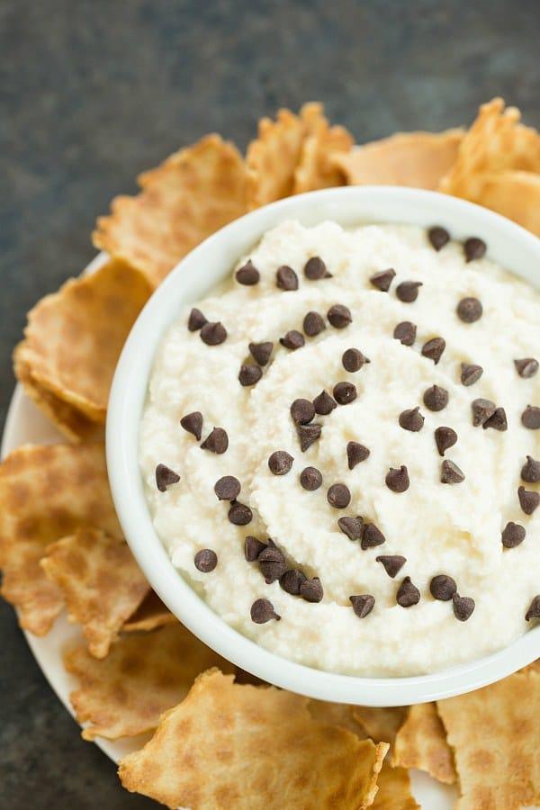 Cannoli Dip | browneyedbaker.com #recipe