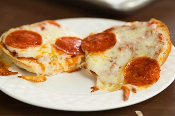 Pizza Burgers   browneyedbaker.com #recipe