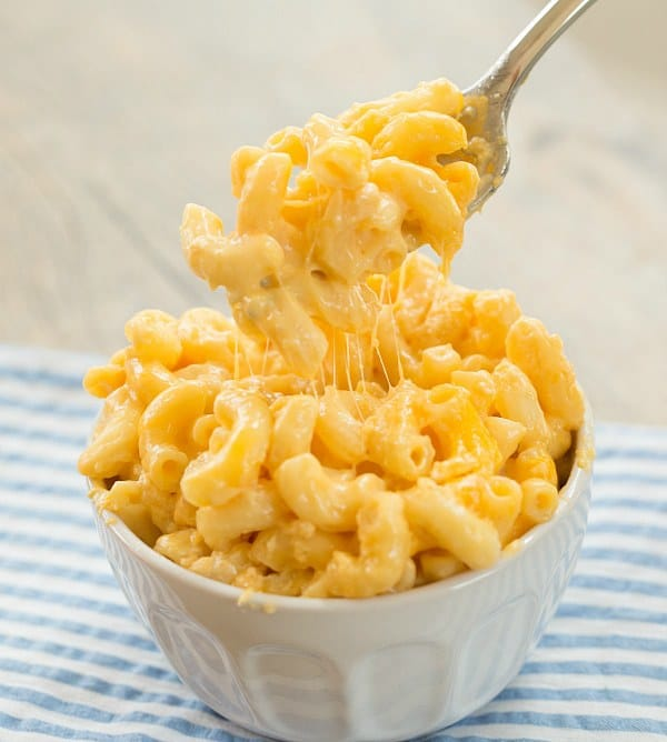 Slow Cooker Macaroni and Cheese | browneyedbaker.com #recipe