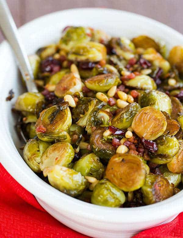 With Bacon, Roasted Red Pepper And Pine Nuts Recipes — Dishmaps