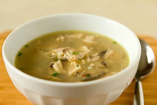 Turkey, Mushroom & Wild Rice Soup :: Five Recipes for Thanksgiving ...
