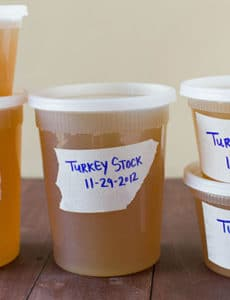 How to Make Homemade Turkey Stock :: Five Recipes for Thanksgiving Leftovers | browneyedbaker.com