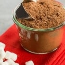 Easy Homemade Hot Chocolate Mix Recipe - Great for stashing for yourself or giving away as gifts! | browneyedbaker.com