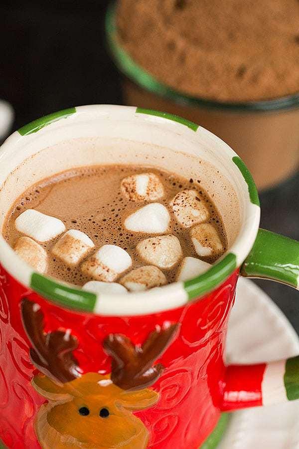 Homemade Dry Mix Hot Chocolate Recipe