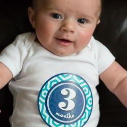 Joseph David - 3 Months Old
