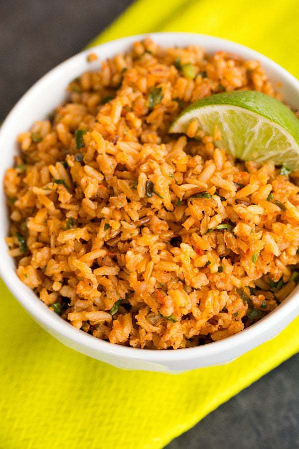 Mexican Rice | Brown Eyed Baker