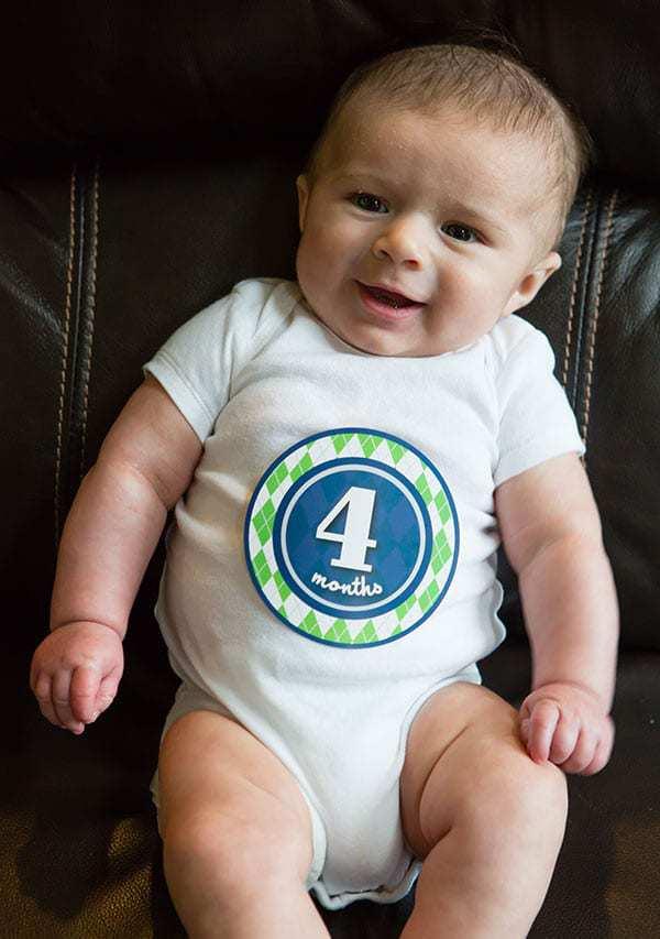 Joseph David - 4 months!
