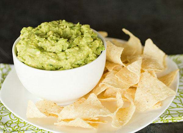 The BEST Guacamole Recipe you'll ever eat! | browneyedbaker.com