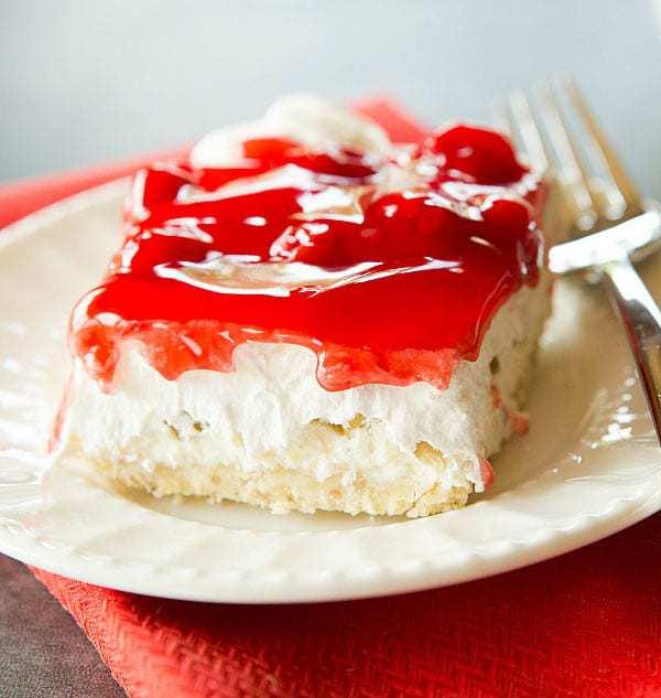 No-Bake Cherry Walnut Cheesecake Recipe | Brown Eyed Baker