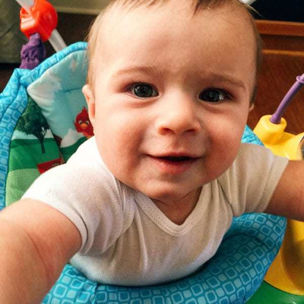 Joseph David - 7 months old! | browneyedbaker.com