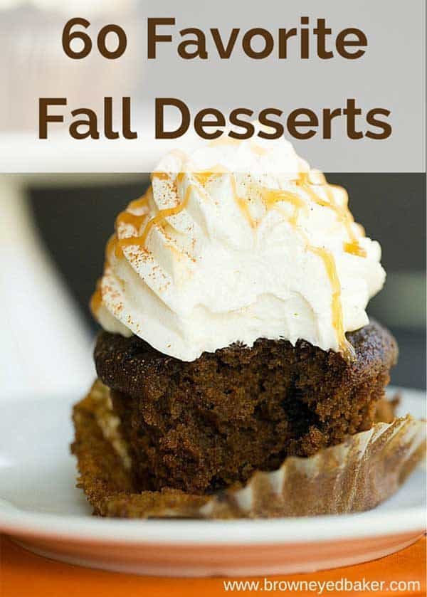 60 Favorite Fall Dessert Recipes