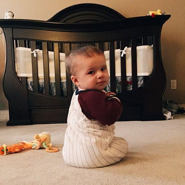 Joseph David - 7 months | browneyedbaker.com