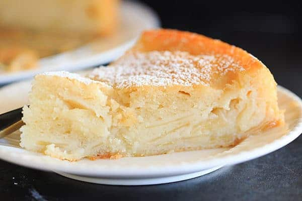 French Apple Cake - Part custard, part traditional cake and PACKED ...