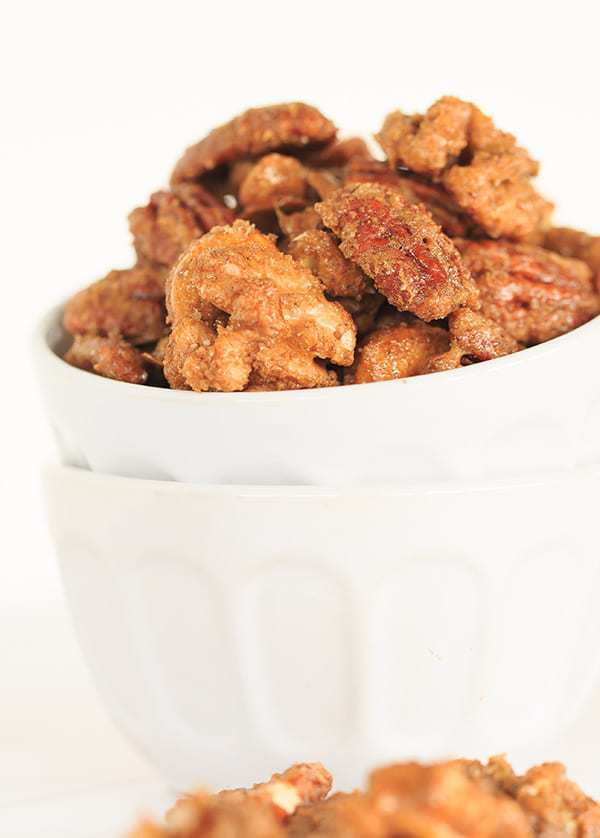 ... gifts! | http://www.browneyedbaker.com/sugar-and-spice-candied-nuts