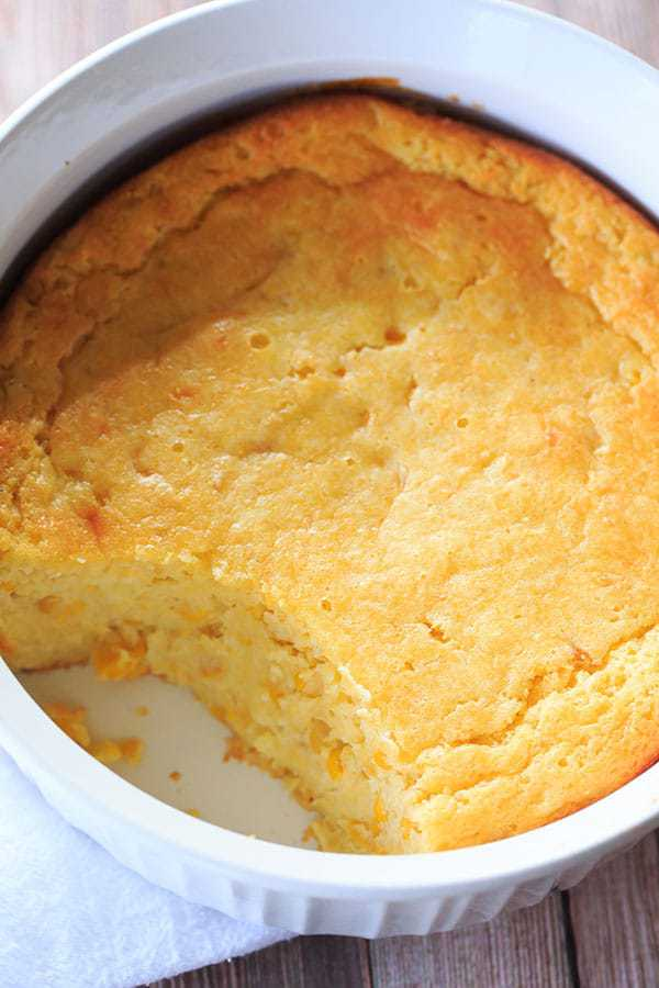 Sweet Corn Spoon Bread | Brown Eyed Baker