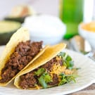 How to make tacos with ground beef