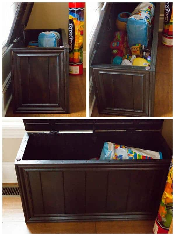 Homemade Toy Box