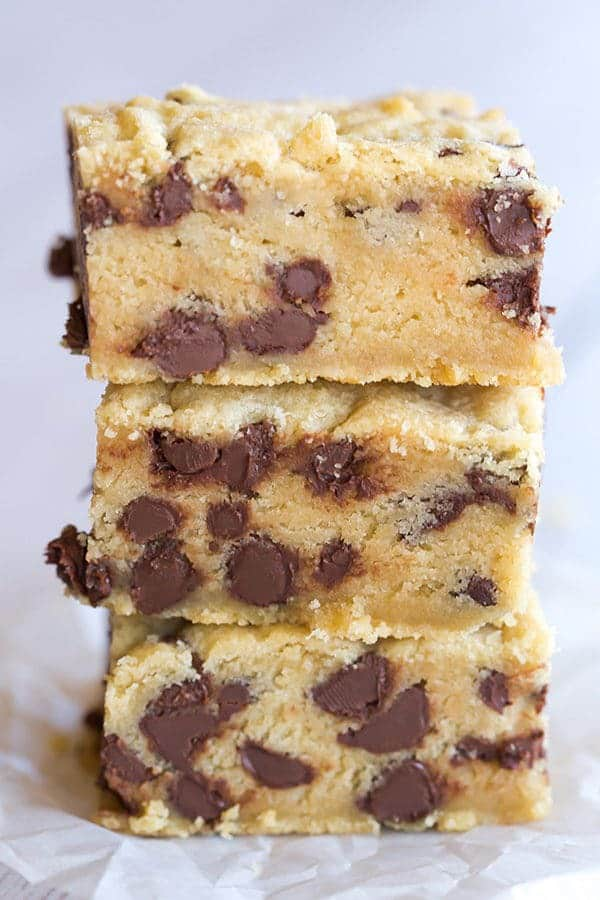 Chocolate Chip Cookie Bars Recipe — Dishmaps