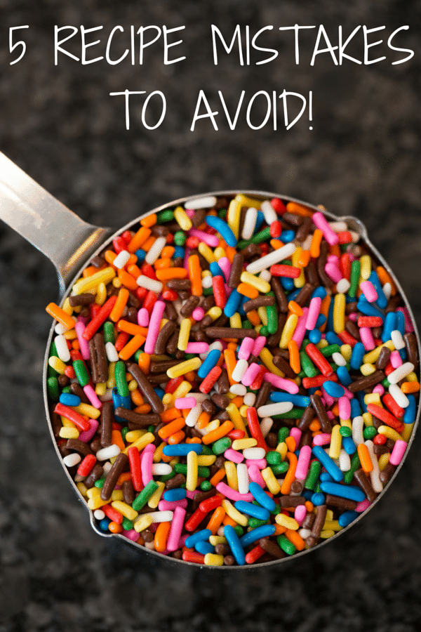 Baking Basics: 5 Mistakes to Avoid When Preparing a Recipe - Follow these fundamental steps to make sure your baking projects turn out perfect every time!