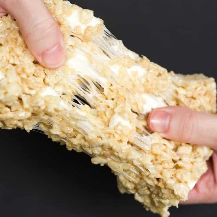 Ultimate Bakery Style Rice Krispies Treats Brown Eyed Baker