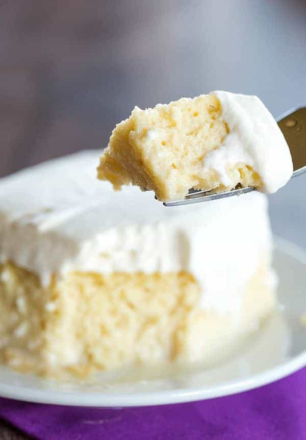Tres Leches Cake Recipe Baker