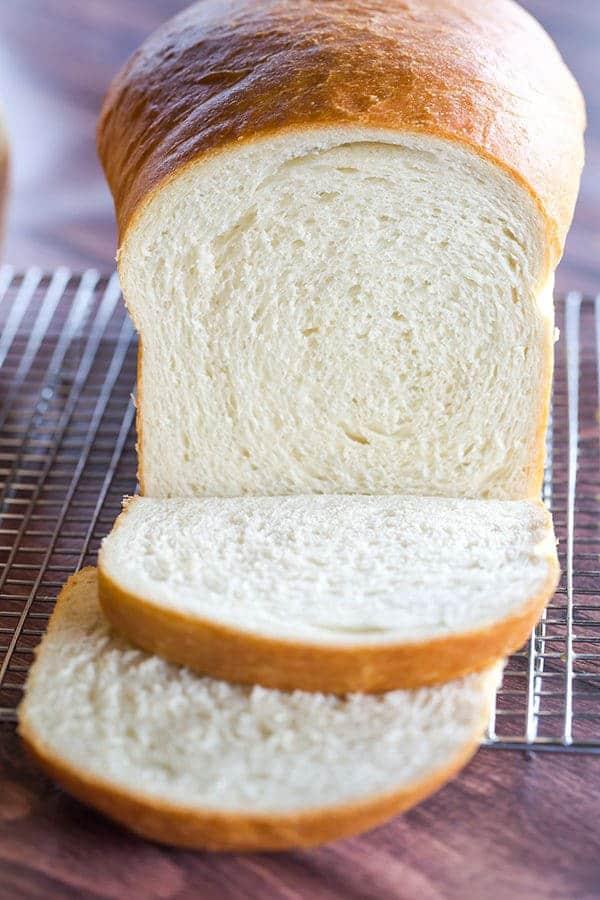 Recipe for easy homemade white bread
