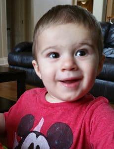 Joseph - Almost 17 months!