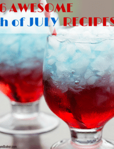 120 Fourth of July Recipes - Tons of red, white and blue and berry recipes for your summer celebration!