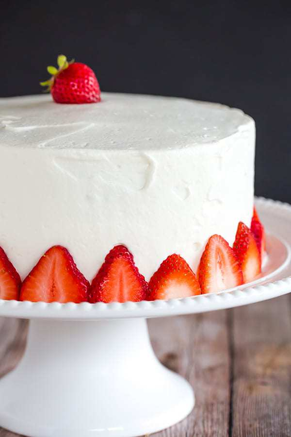 Can I Make Strawberry Cake In The Fall