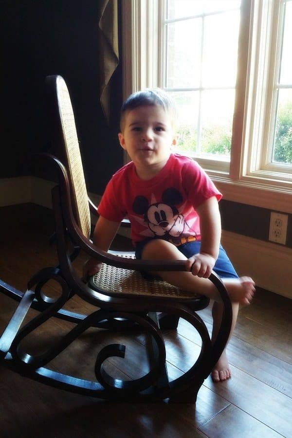 Joseph - almost 19 months!