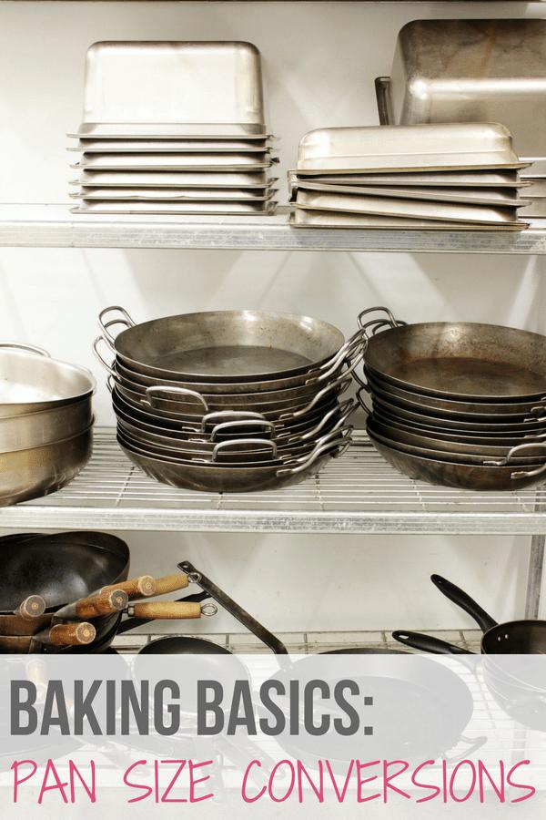 Baking Basics: Converting Pan Sizes