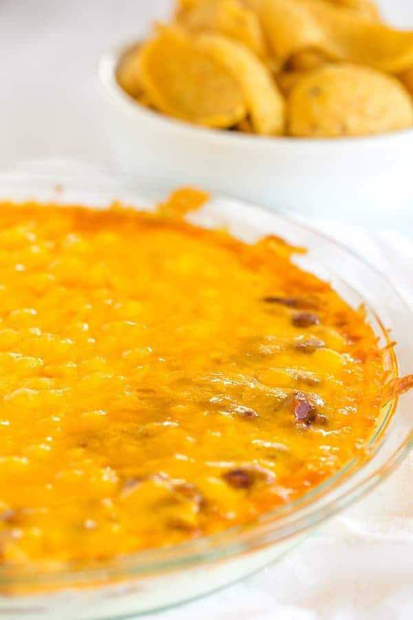 Cheesy Chili Dip Brown Eyed Baker